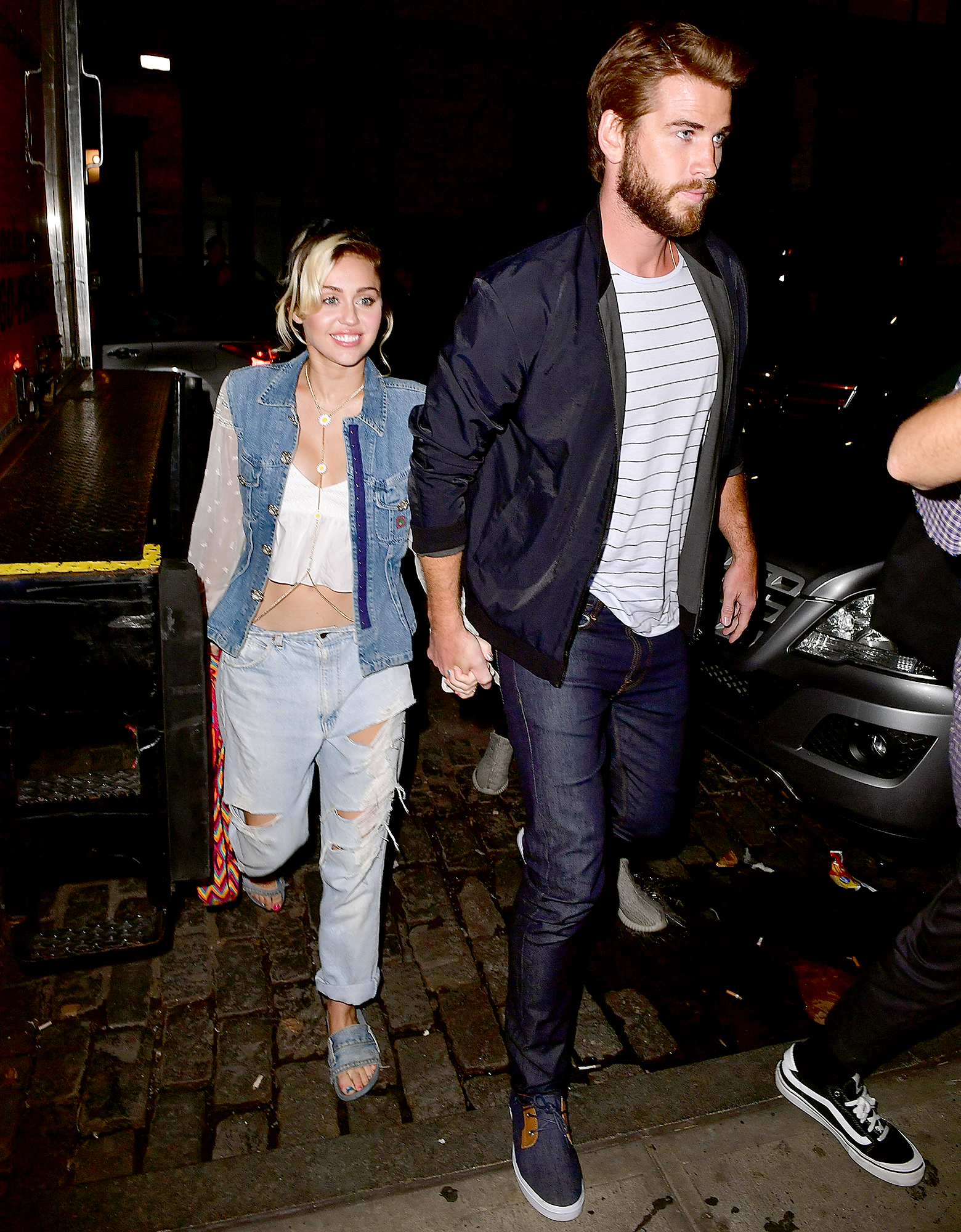 miley-cyrus-liam-hemsworth-2016-back-together - Cyrus rekindled her romance with Hemsworth in October 2016 and confirmed that the pair were reengaged.