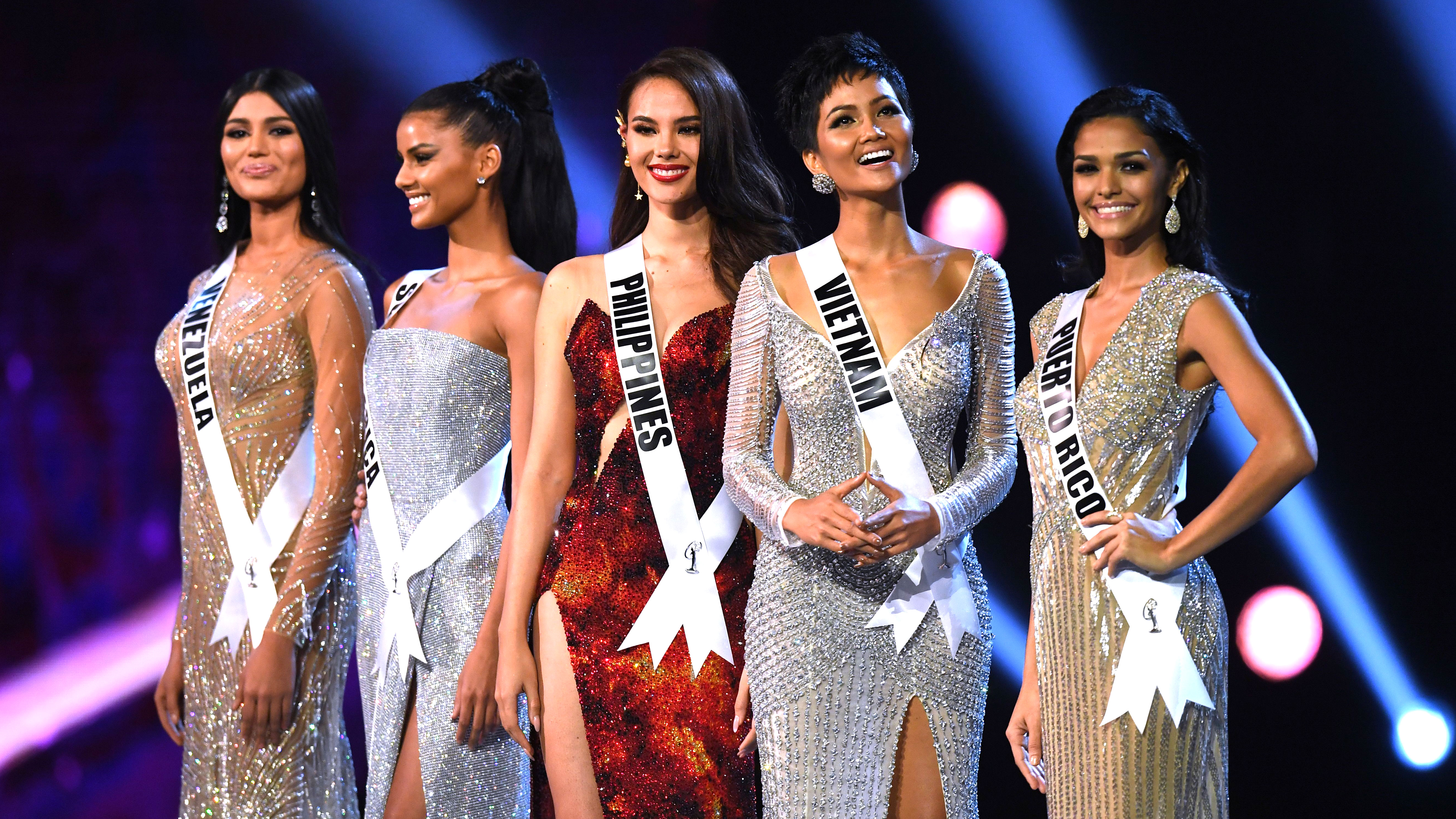 Miss Universe 2018: Top 10 Evening Gowns Competition