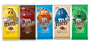 M&M's Chocolate Bars Now Exist, and They Come in Five Delicious Flavors