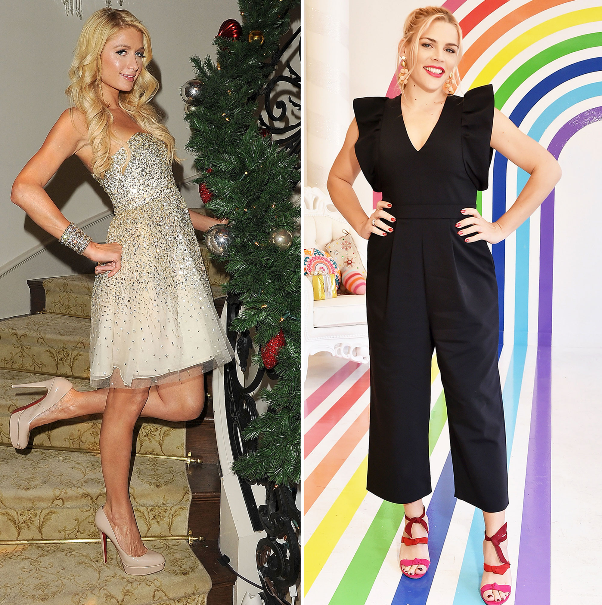 Naughty or Nice Gallery - Santa is making his list — and checking it twice! Celebrities including Paris Hilton and Busy Philipps tell Us Weekly whether or not they believe they've been naughty or nice this year.