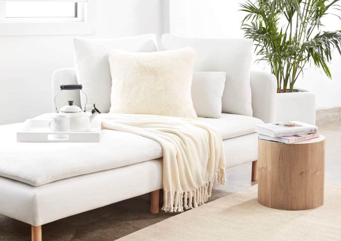 plush throw accent color home decor comfortable