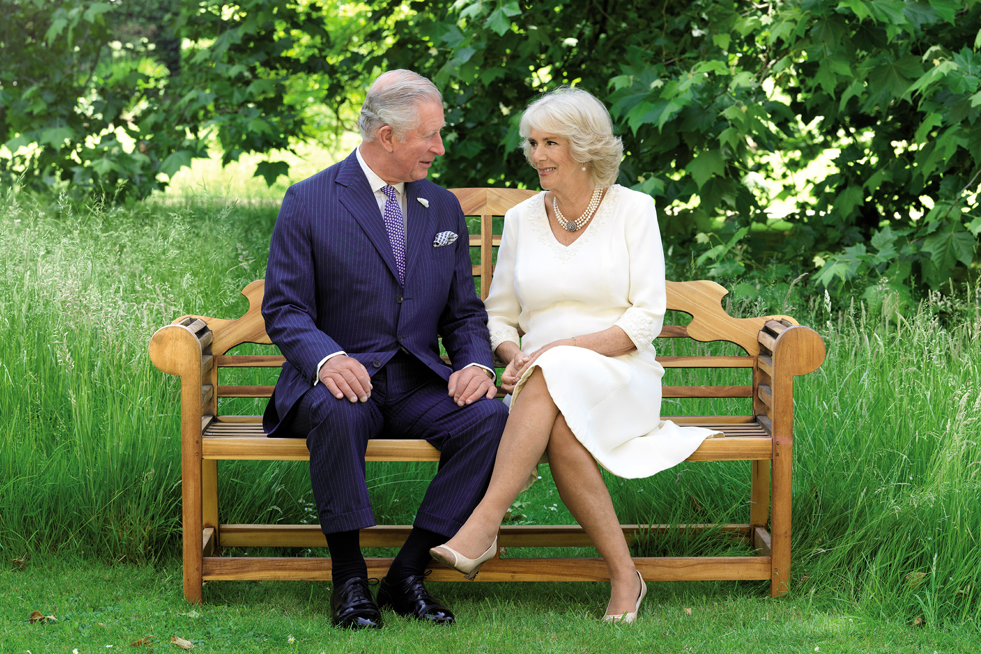 """prince-charles-holiday-card-2018 - Charles and Camilla wished everyone a """"very Happy Christmas and New Year"""" in their 2018 Christmas card."""