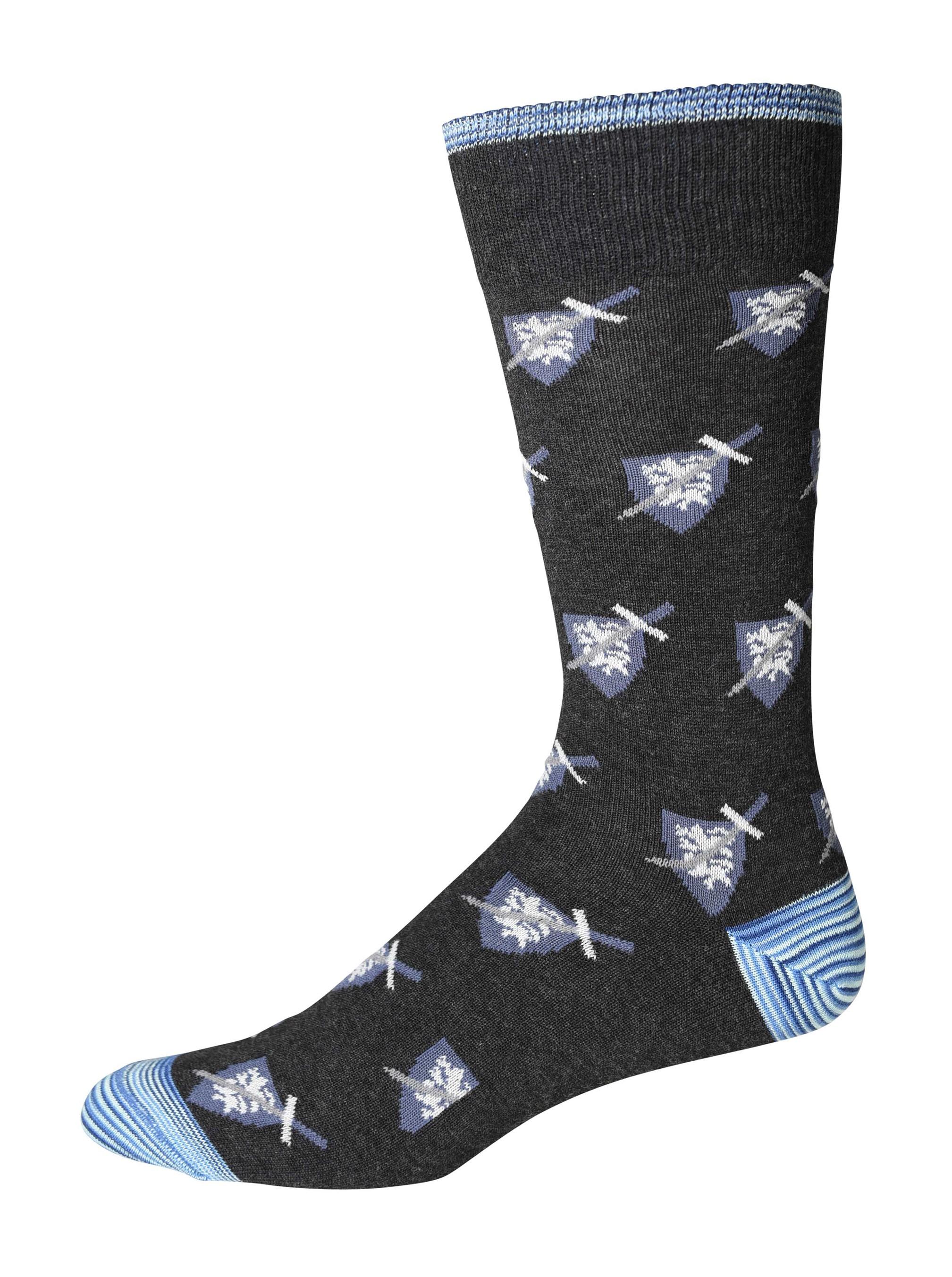printed socks robert graham