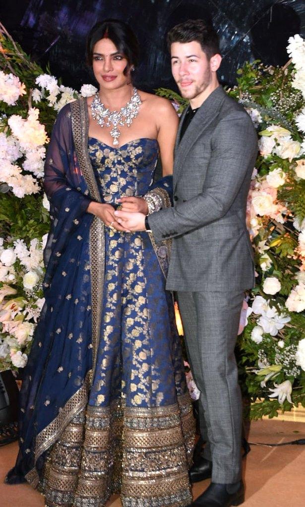 Priyanka Chopras Mumbai Wedding Reception Night One Dress Pic