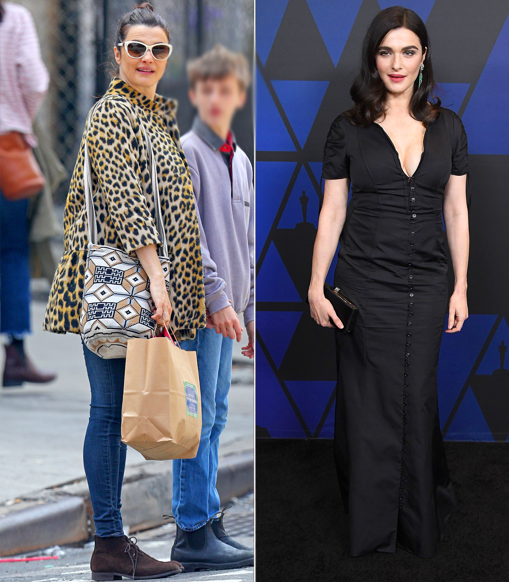 celebrity baby weight loss 2018 - The British actress gave birth to her second child, a daughter, with husband Daniel Craig, in late summer. At the Governor's Awards in Hollywood on November 18 (right), the 48-year-old was already slim.