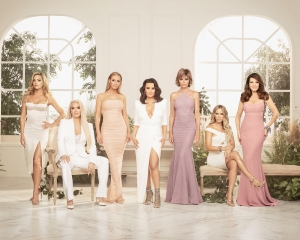 The cast of The Real Housewives of Beverly Hills Season 9