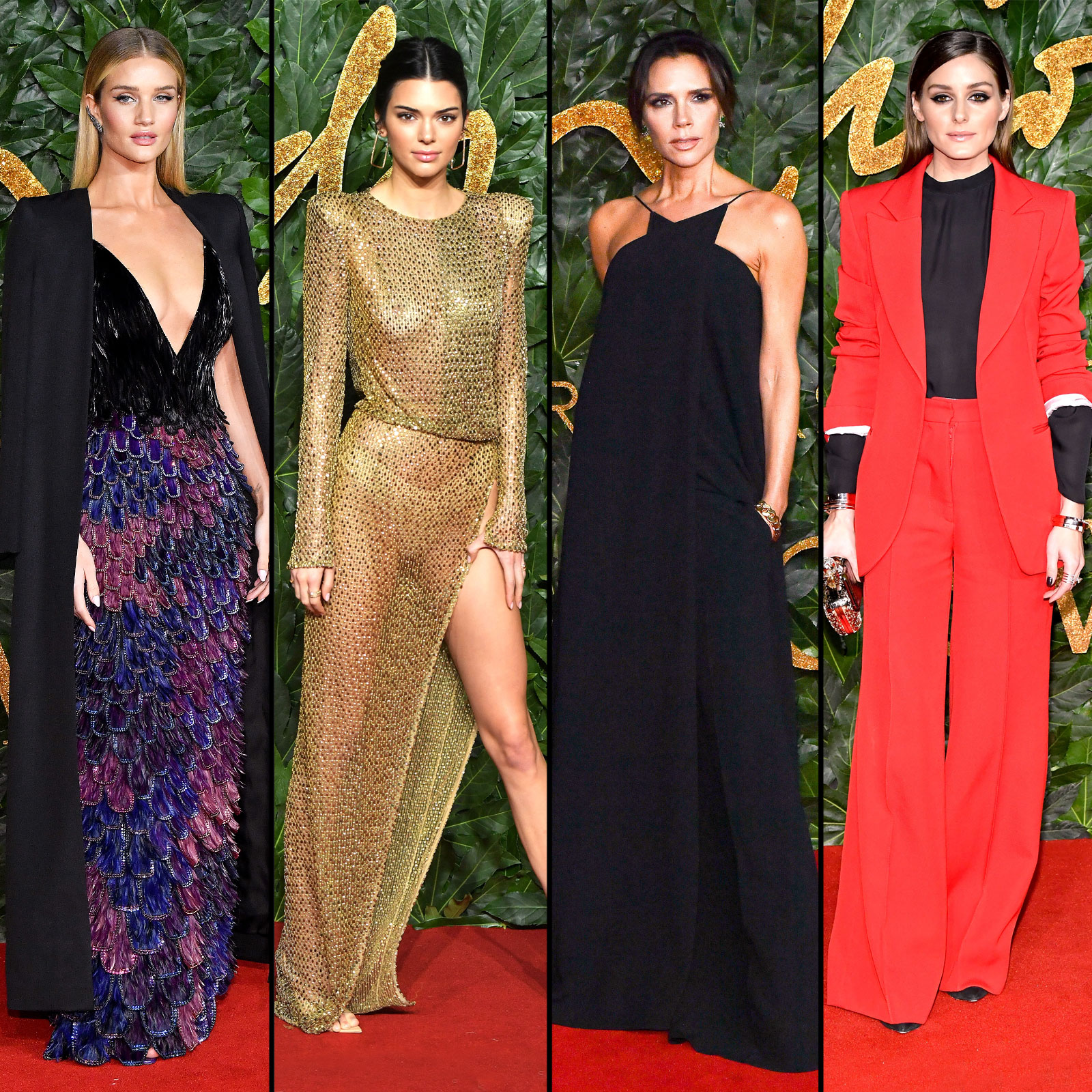 British Fashion Awards 2018 Red Carpet: Celeb Dress Pics