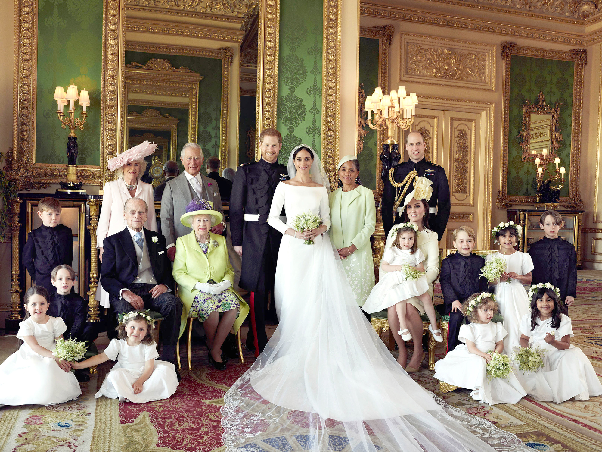 Royal Family Nicknames - USA Rights Only – Windsor, UK -20180519-Official Wedding Portraits of Prince Harry and Meghan Duchess of Sussex Released by the Palace NEWS EDITORIAL USE ONLY. NO COMMERCIAL USE.