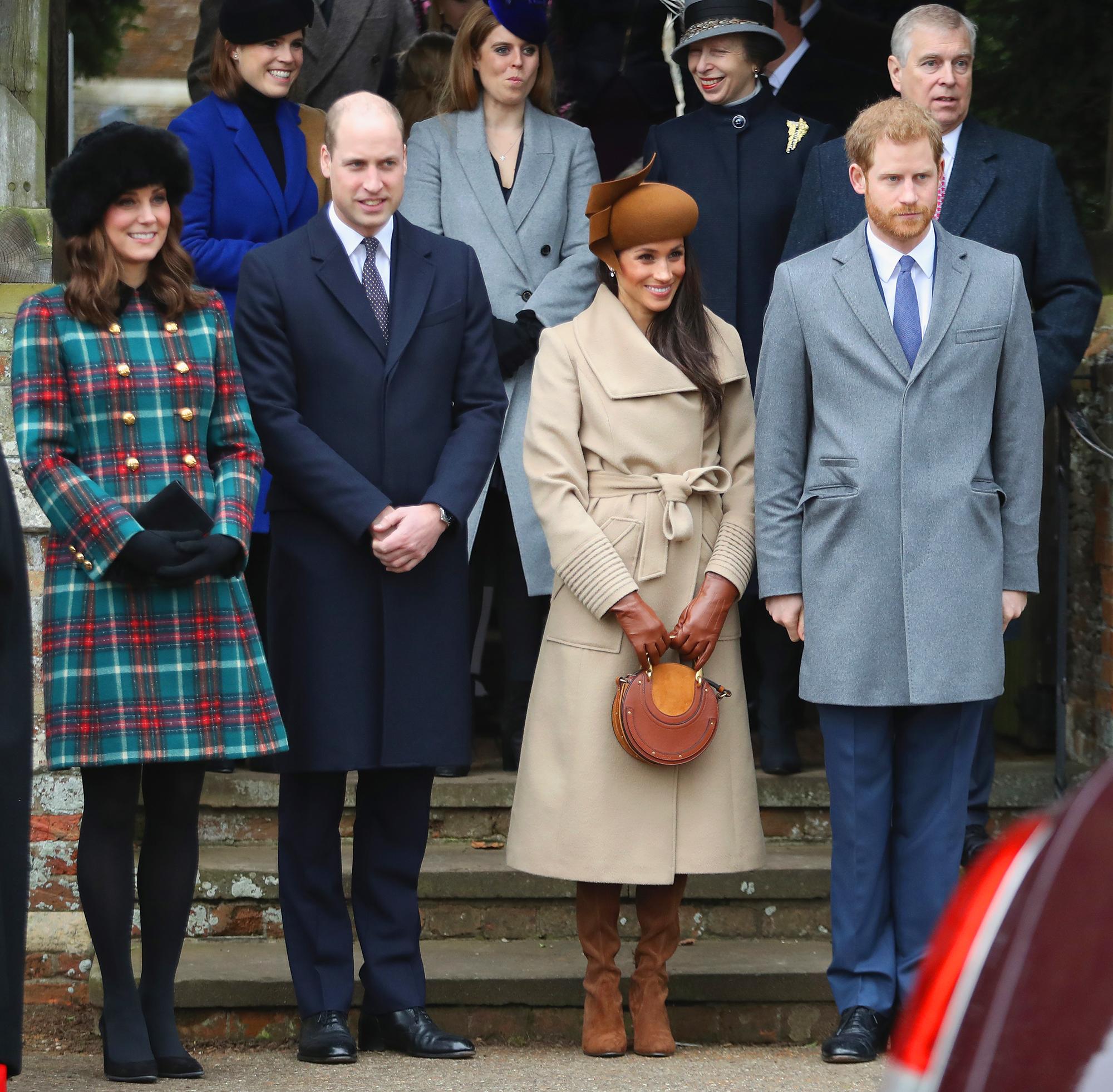 Royal Family Christmas Dinner: Roast Turkey, Pudding, More