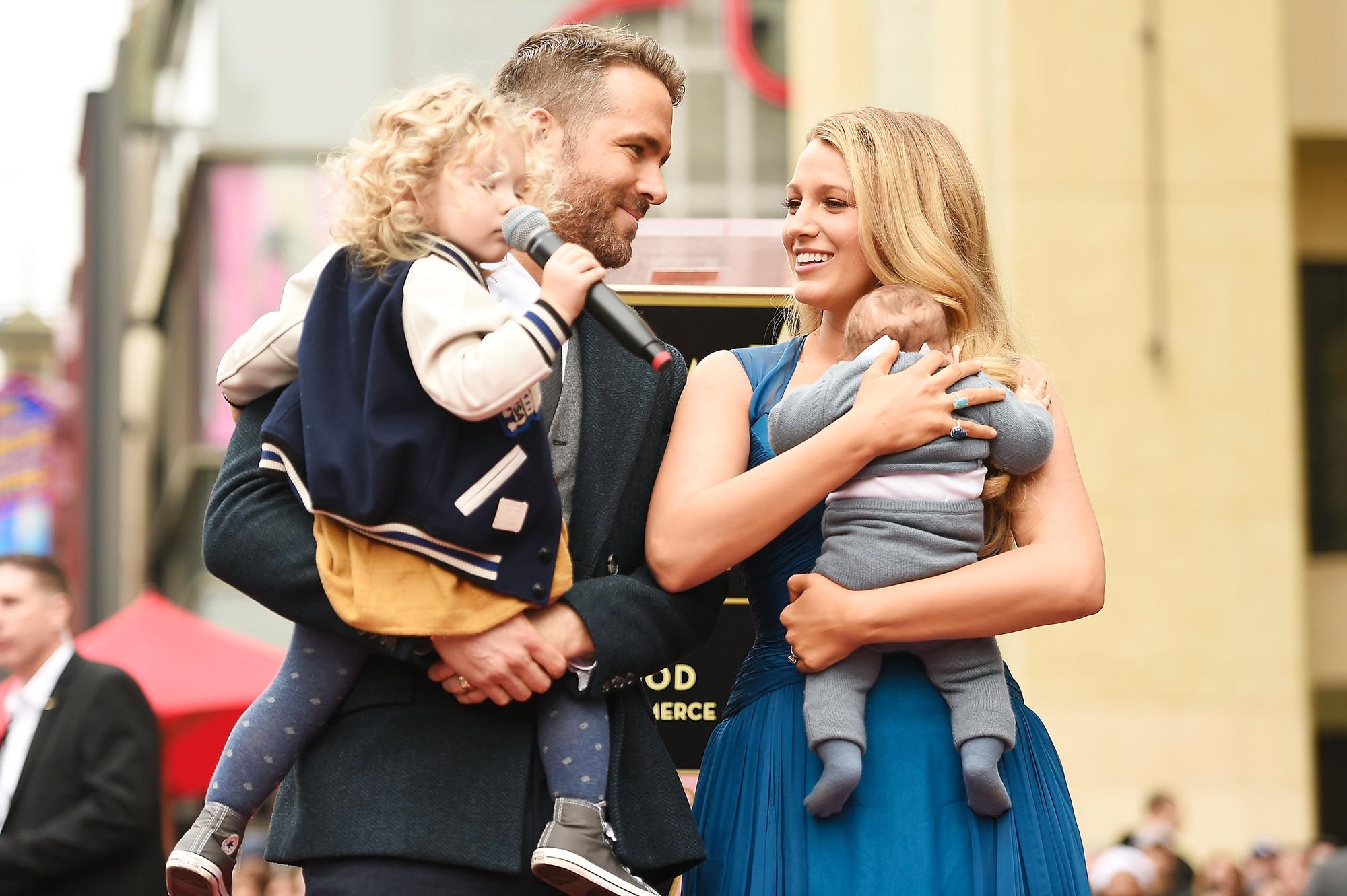 Ryan Reynolds Third Child Blake Lively