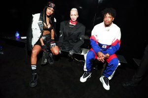 Teyana Taylor, Sophia the AI Robot and 21 Savag