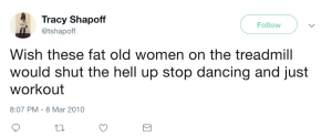 Tracy Shapoff's tweets