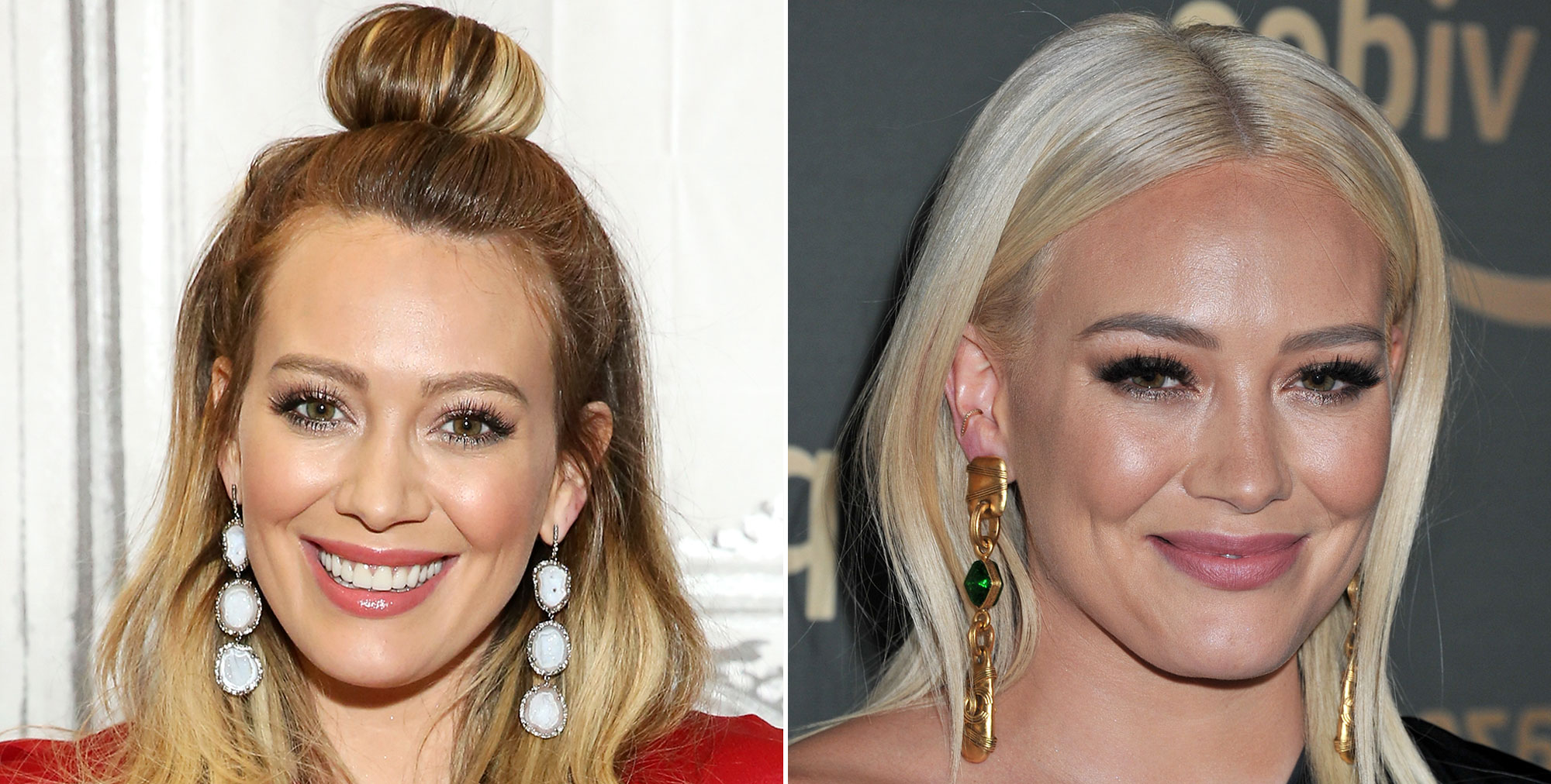 """Celebrity Hair Transformations of 2019 - After debuting a """"winter white"""" shade in December, the actress has gone even brighter in the new year. Her stylist Nikki Lee posted on Instagram that she whipped up """"fresh blonde for the hottest mom"""" ahead of the Golden Globe afterparties on Sunday, January 6."""