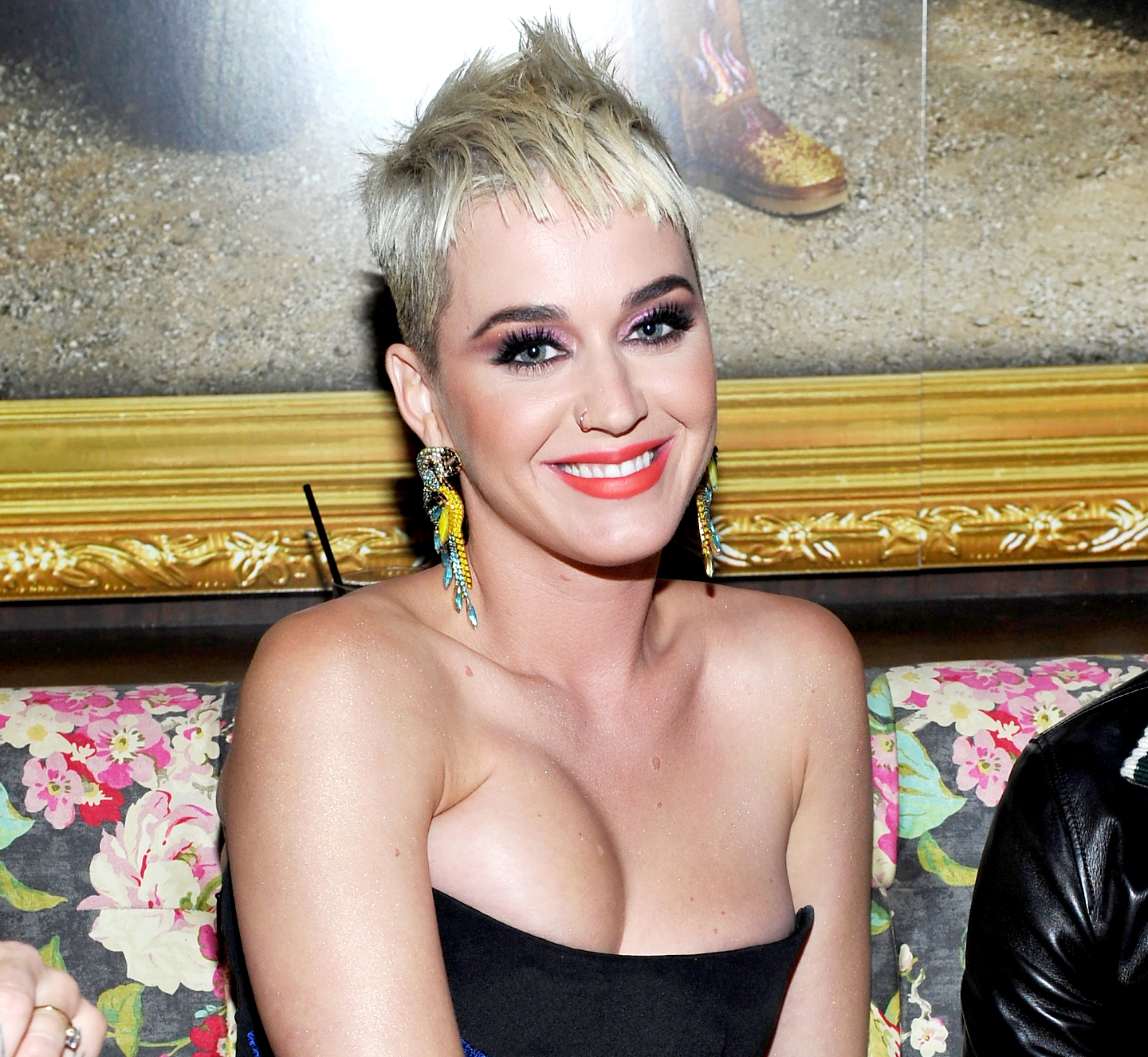 Awkward! Celebrities Who Had Horrible First Kisses - WEST HOLLYWOOD, CA – AUGUST 27: Katy Perry at UGG x Jeremy Scott Collaboration Launch Event at The h.wood Group's 'Poppy' on August 27, 2017 in West Hollywood, California.