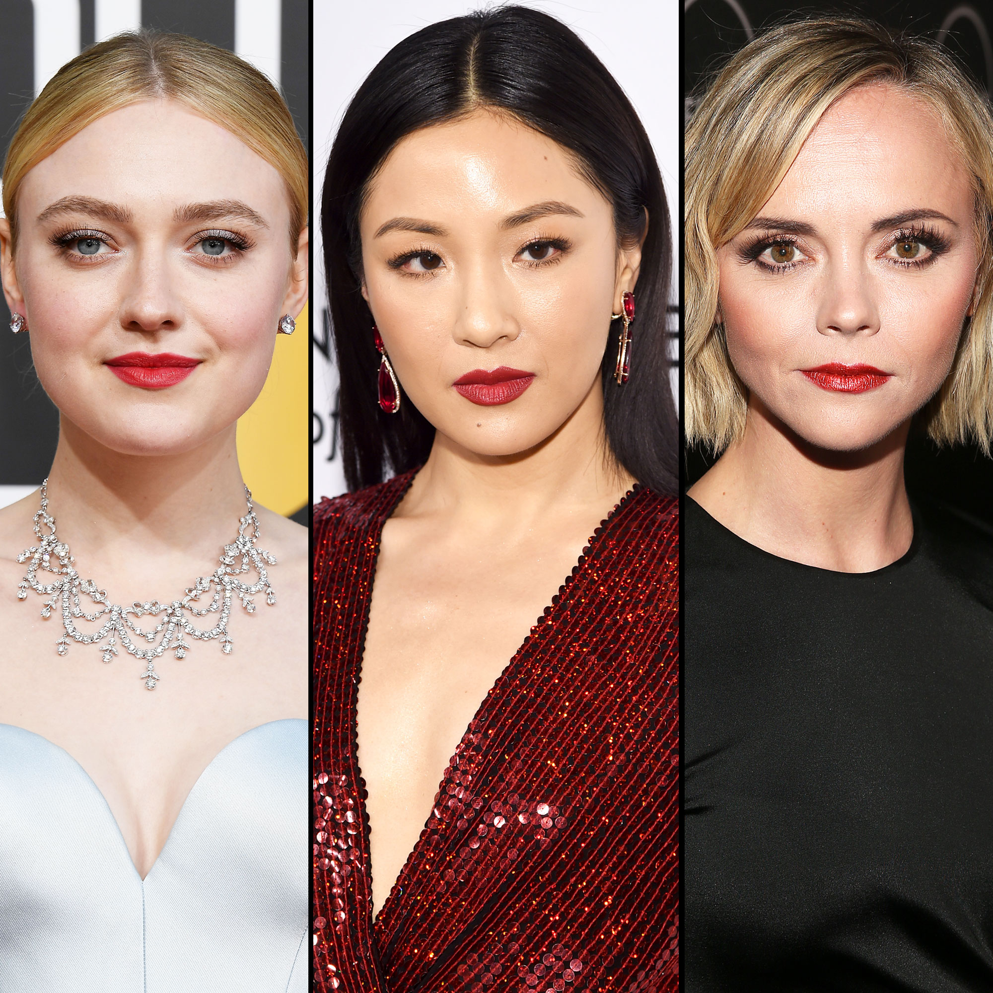 Dakota Fanning, Constance Wu, and Christina Ricci