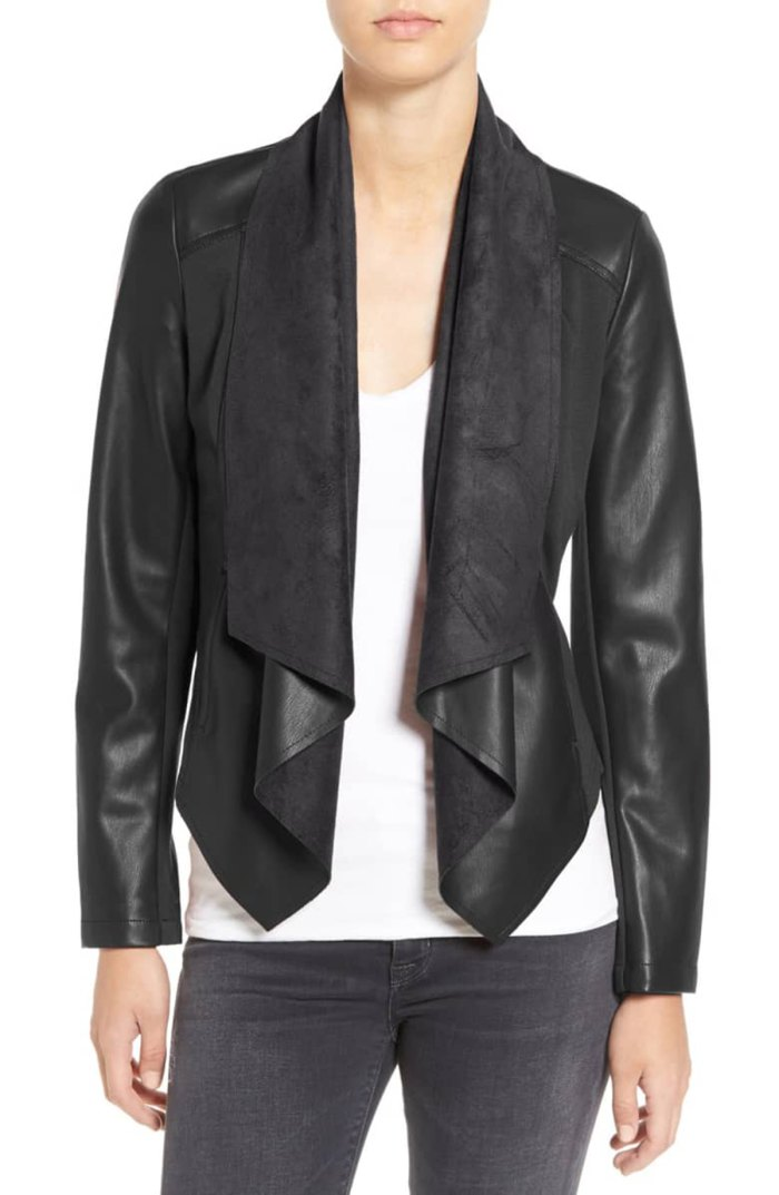 Ana Faux-Leather Front