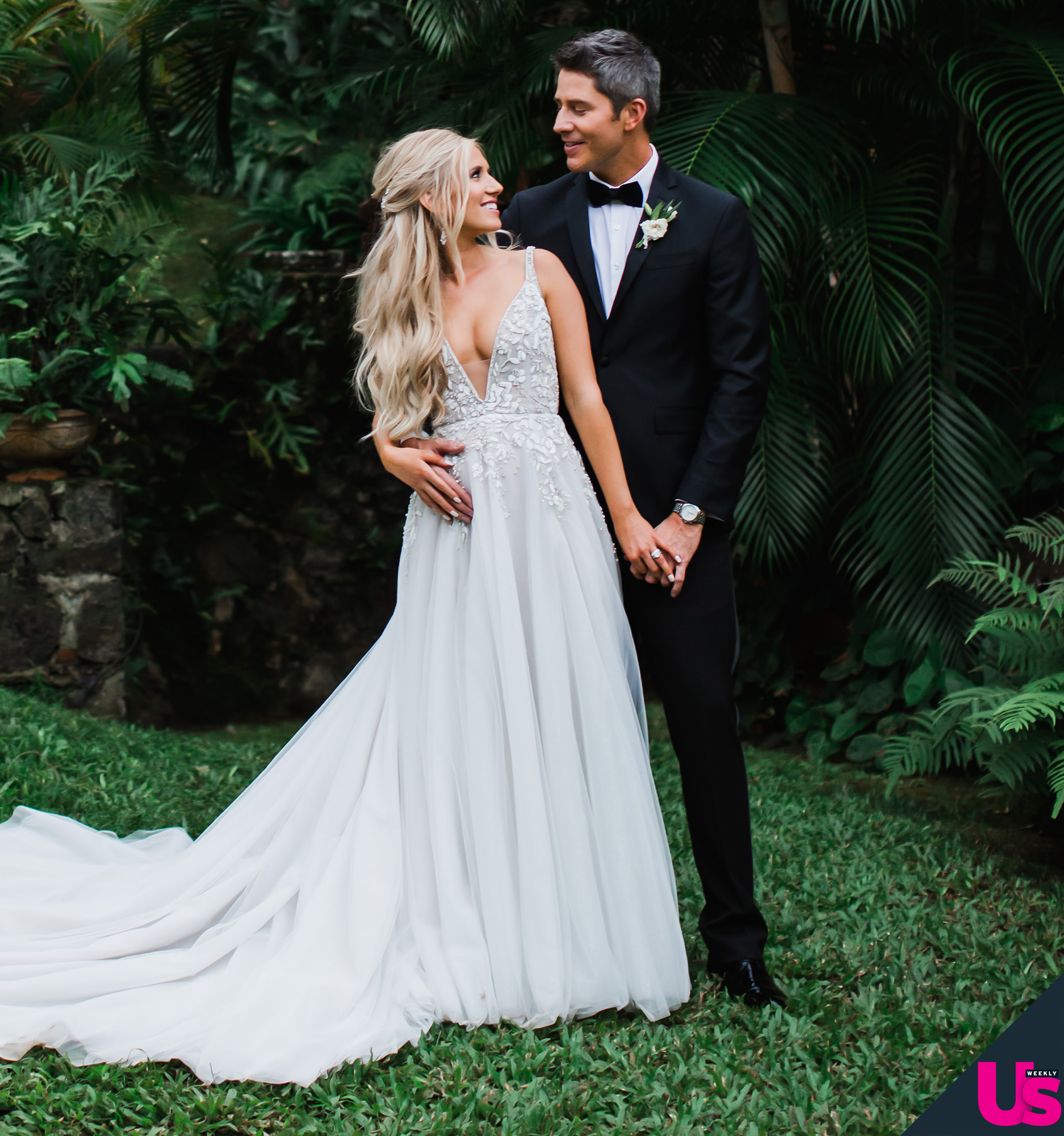 """Arie-Luyendyk-Jr. -Lauren-Burnham-quotes - The former tech saleswoman was floating on cloud nine following her nuptials: She posted several photos from her big day on Instagram and wrote, """"One lifetime with you will never be enough. 1.12.19."""""""