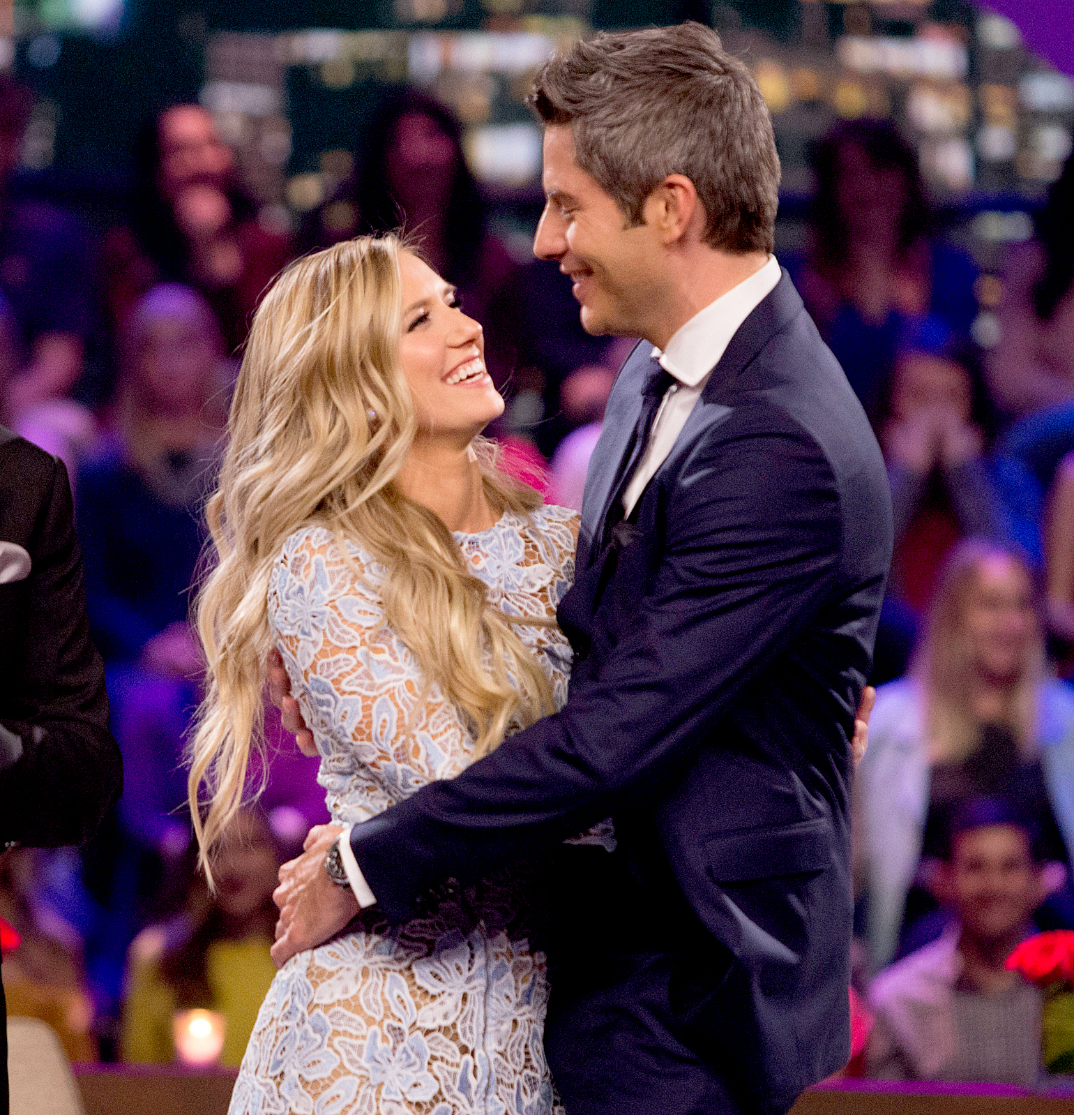 Arie-Luyendyk-Jr. -Lauren-Burnham-quotes - The professional driver expressed his feelings for the volunteer EMT to the world when he got down on one knee on the season 22 finale of ABC hit.