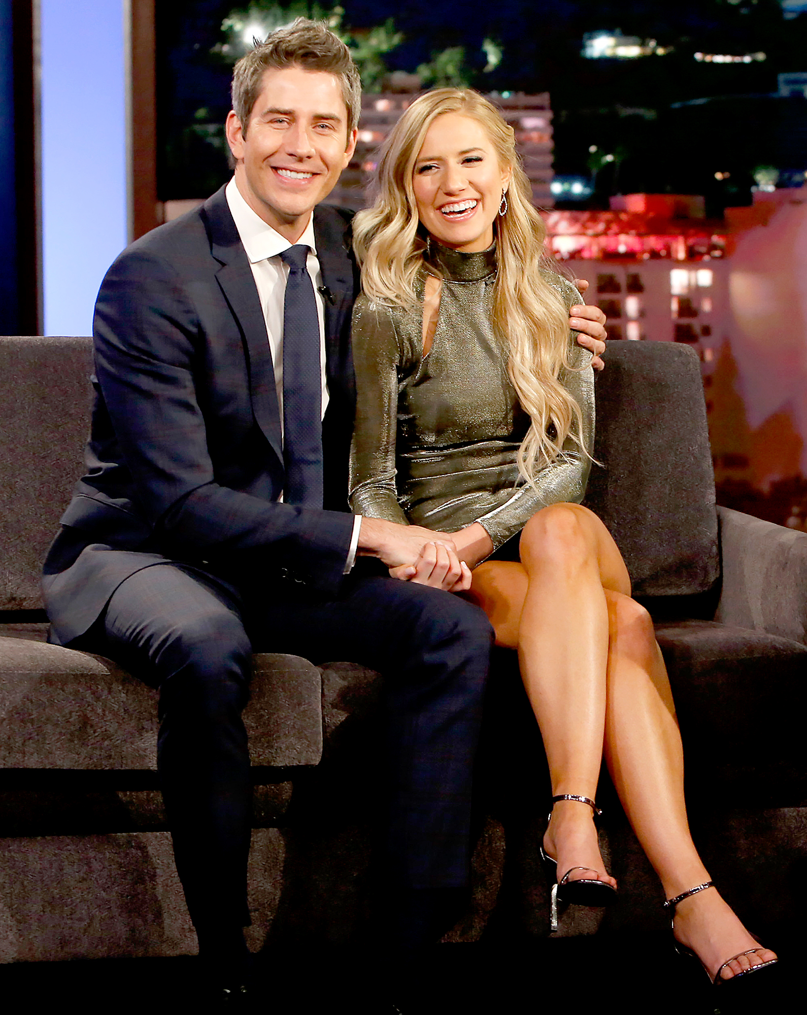 """Arie-Luyendyk-Jr. -Lauren-Burnham-quotes - Luyendyk Jr. made it clear that he didn't care what others thought of his decision, telling Us Weekly in March 2018 of his newfound love, """" [We] have a healthy relationship . We lean on each other. I didn't do this to become popular. I did this to find someone."""""""