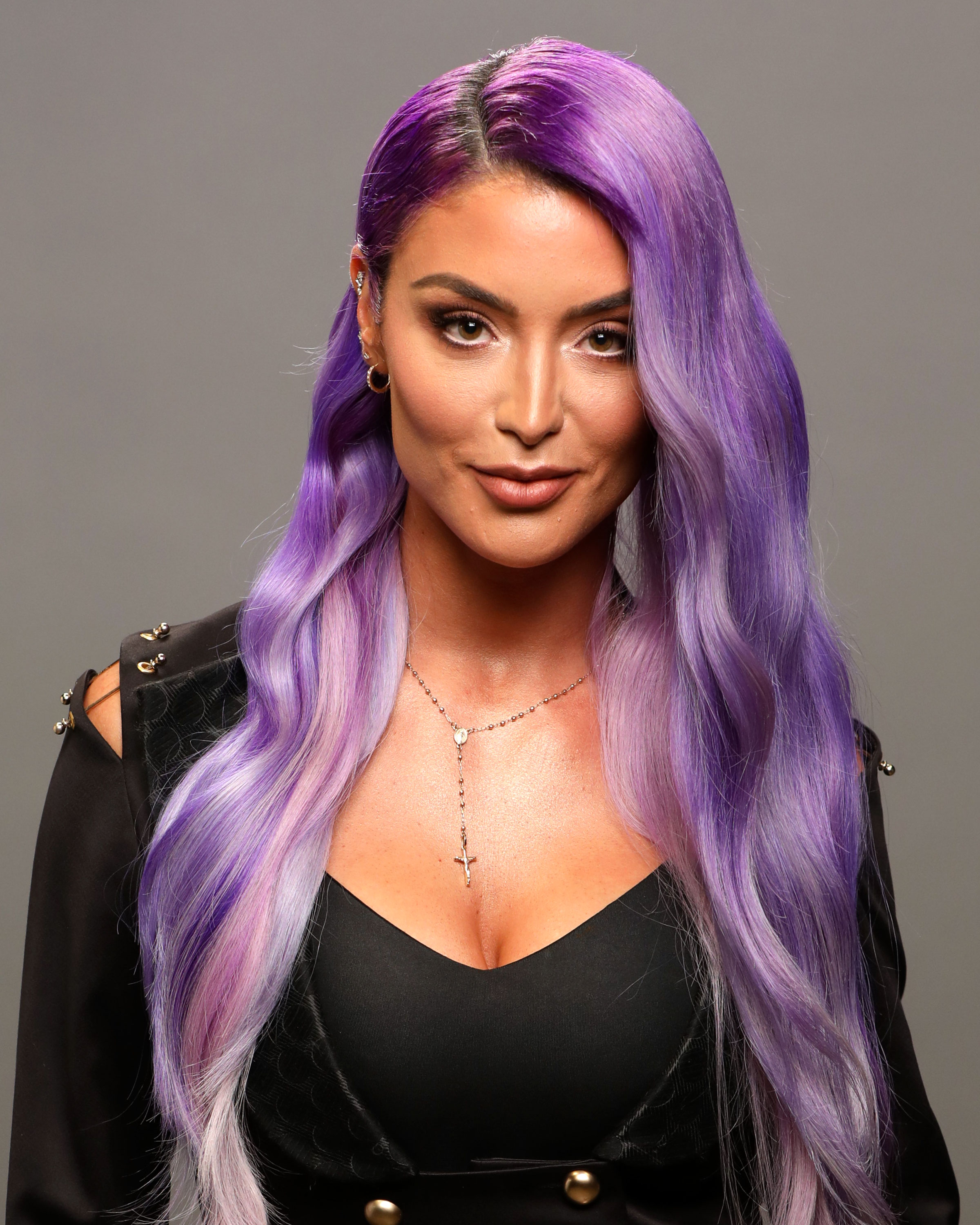 BIG-BROTHER-CELEBRITY-EDITION-Natalie Eva Marie - While her real name is Natalie Marie Coyle, the former pro-wrestler, 34, mainly goes by Eva Marie. She competed in the WWE from 2013 to 2017.