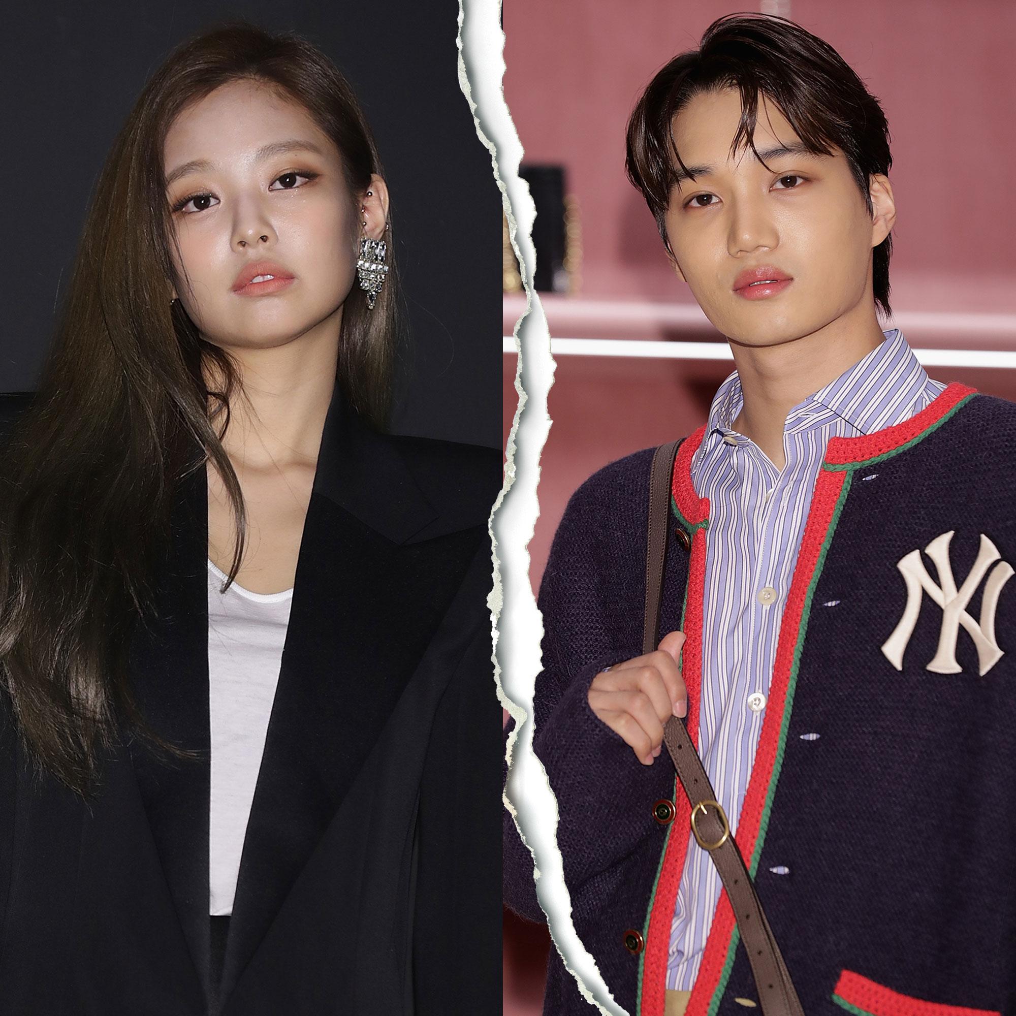 K-Pop Stars BLACKPINK's Jennie and EXO's Kai Split