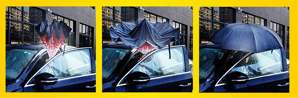 Bagail Inverted Umbrella Car