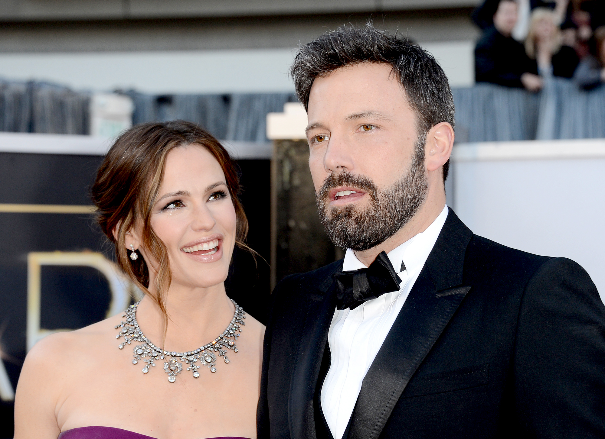 "Ben-Affleck-and-Jennifer-Garner-coparenting - The 13 Going on 30 star, who started dating businessman John Miller in October 2018, opened up about her divorce in a candid interview with Vanity Fair in March 2016. ""I didn't marry the big, fat movie star. I married him and I would go back and remake that decision. I ran down the beach to him and I would again. You can't have three babies and so much of what we had. He's the love of my life. He's the most brilliant person in any room, the most charismatic, the most generous,"" she raved."