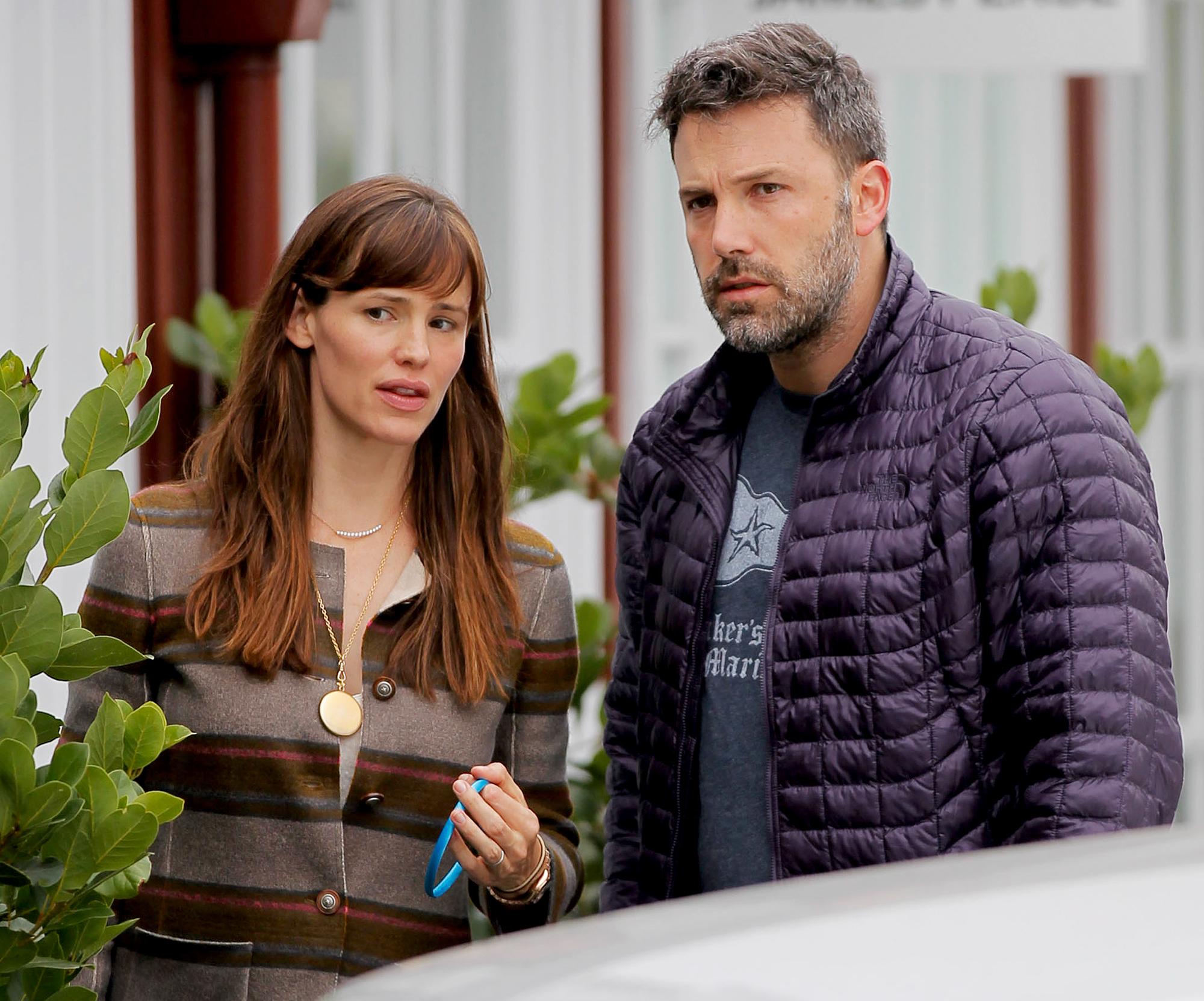 "Ben-Affleck-and-Jennifer-Garner-coparenting - During a Times Talk panel in March 2016, the Argo director said that the Peppermint actress is ""the world's greatest mom."""