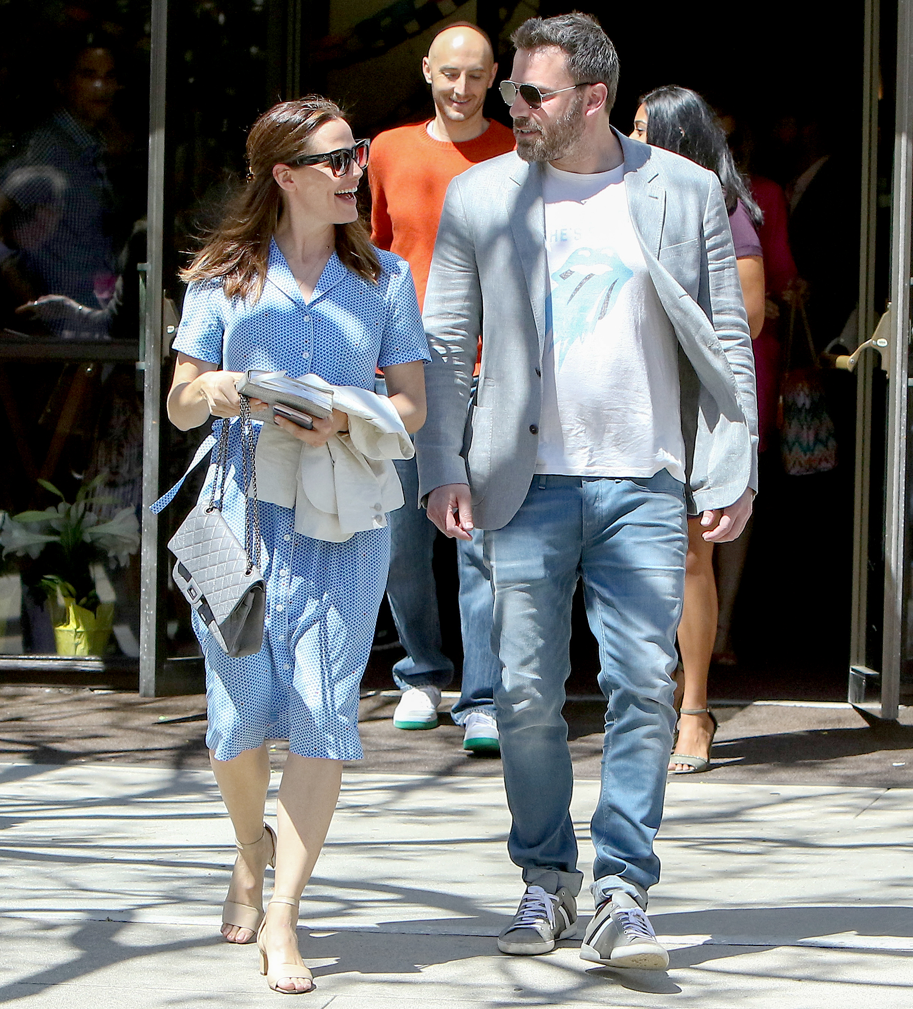 "Ben-Affleck-and-Jennifer-Garner-coparenting - ""We are definitely a modern family,"" the Miracles From Heaven actress dished to Today in August 2016. ""We're doing really well. … He and I are great friends. It has to be [about being a team]. You don't have a choice."""