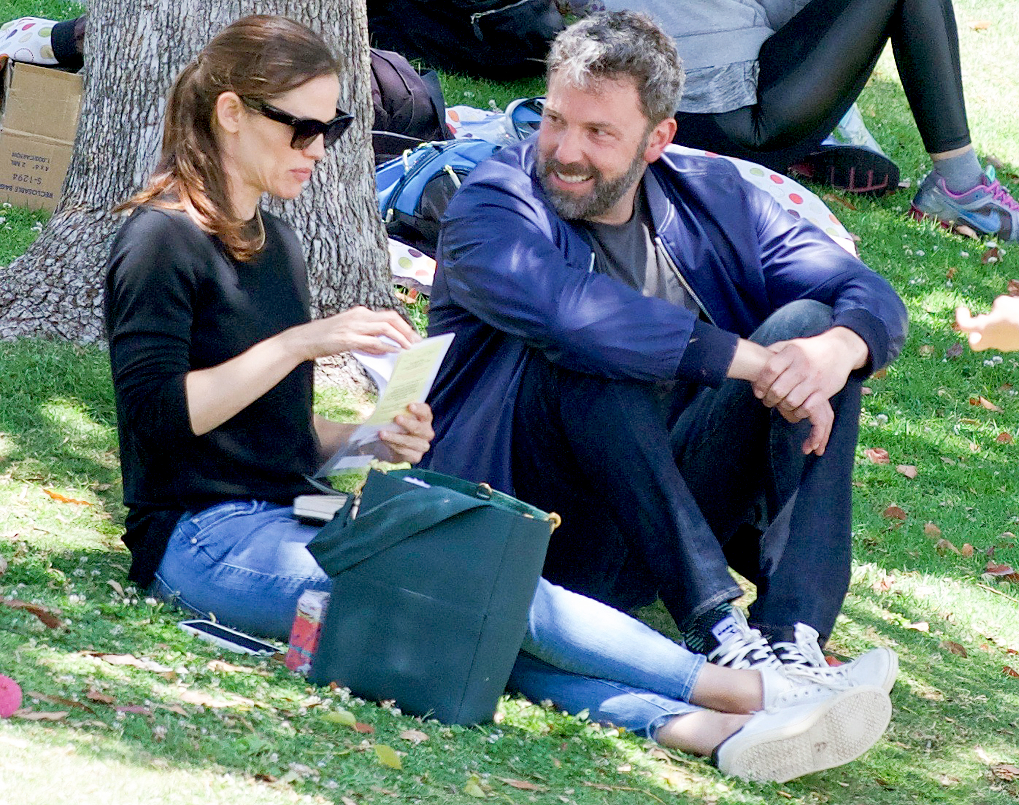 "Ben-Affleck-and-Jennifer-Garner-coparenting - ""I am a giant fan of Jennifer. She's just a fabulous person. She's just a wonderful person,"" the Gone Girl star, who finalized his divorce from Garner in October 2018, told CBS This Morning in March 2016. ""She's a great mother. She's a real talent. She has set such a good example and a lead that I follow. She's somebody that I admire and respect and remain excellent friends with."""