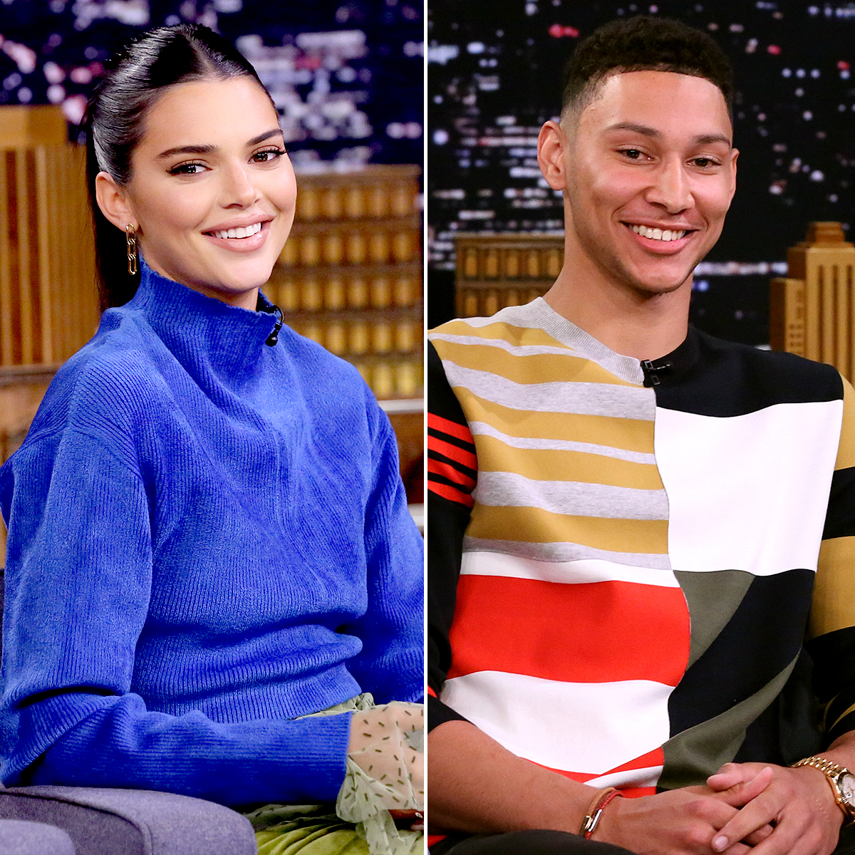 Ben-Simmons-and-Kendall-Jenner-Get-Flirty-on-Instagram - Kendall Jenner and Ben Simmons