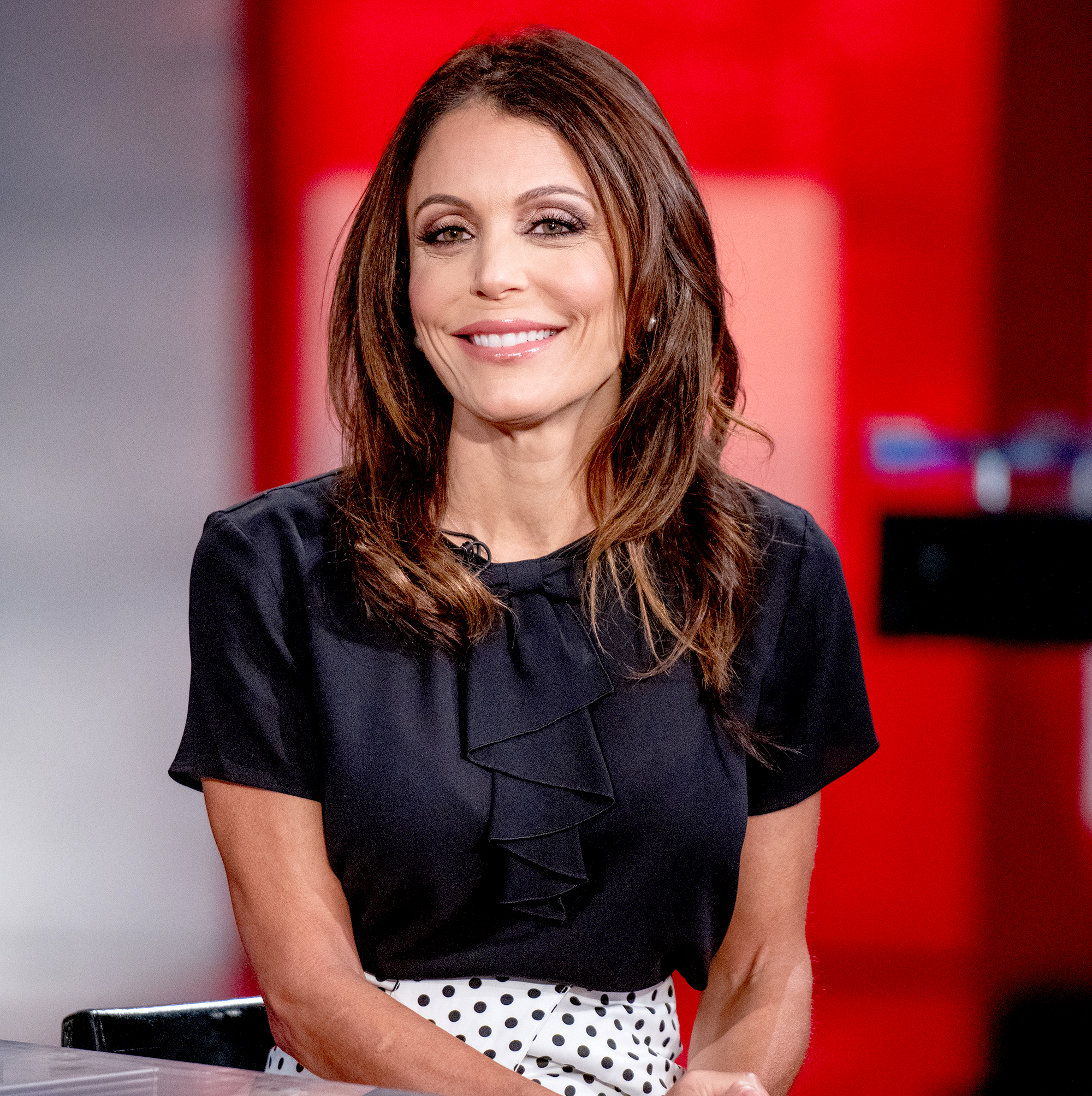 Bethenny-Frankel-fish-allergy-plane - Bethenny Frankel visits Fox Business Network at Fox Business Network to discuss Hurricane Florence Studios on September 14, 2018 in New York City.