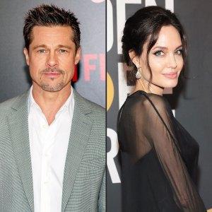 Brad Pitt Angelina Jolie Meet Up Contentious Divorce