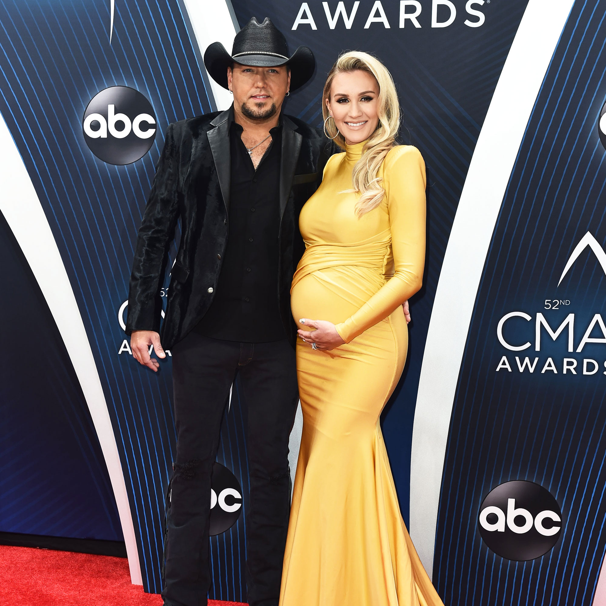 "JASON ALDEAN, BRITTANY KERR Is About to Pop Any Second': See Her Bump - ""The 52nd Annual CMA Awards,"" Country Musics Biggest Night, live from the Bridgestone Arena in Nashville, JASON ALDEAN, BRITTANY KERR"