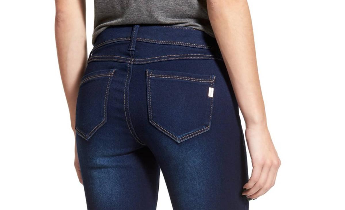 Butter Skinny Jeans Back
