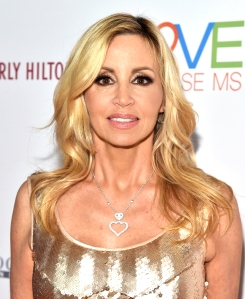 Camille Grammer Is Living in a 'Beautiful Trailer Home' After Woosley Fires