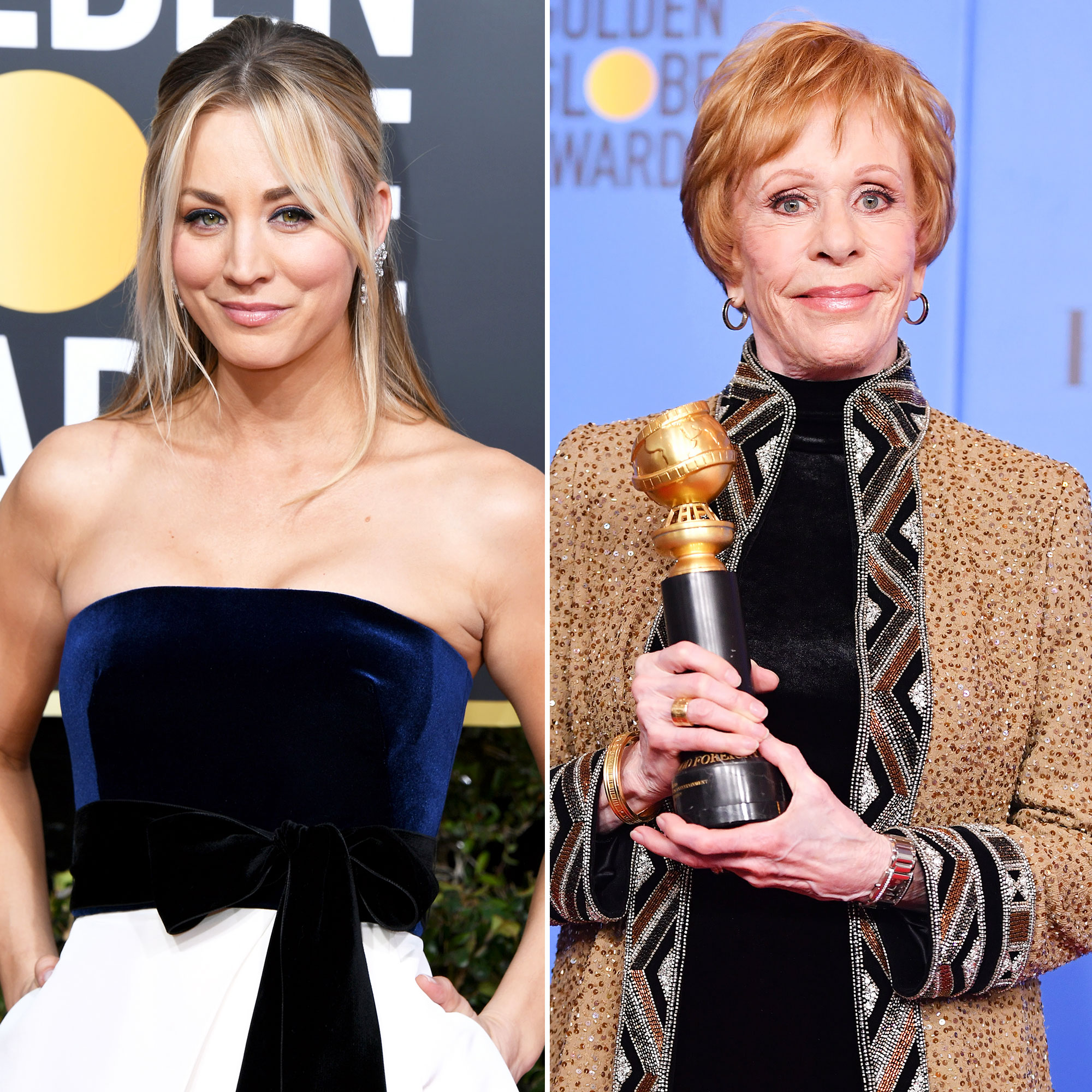 Kaley Cuoco Slams Critics Carol Burnett Standing Ovation