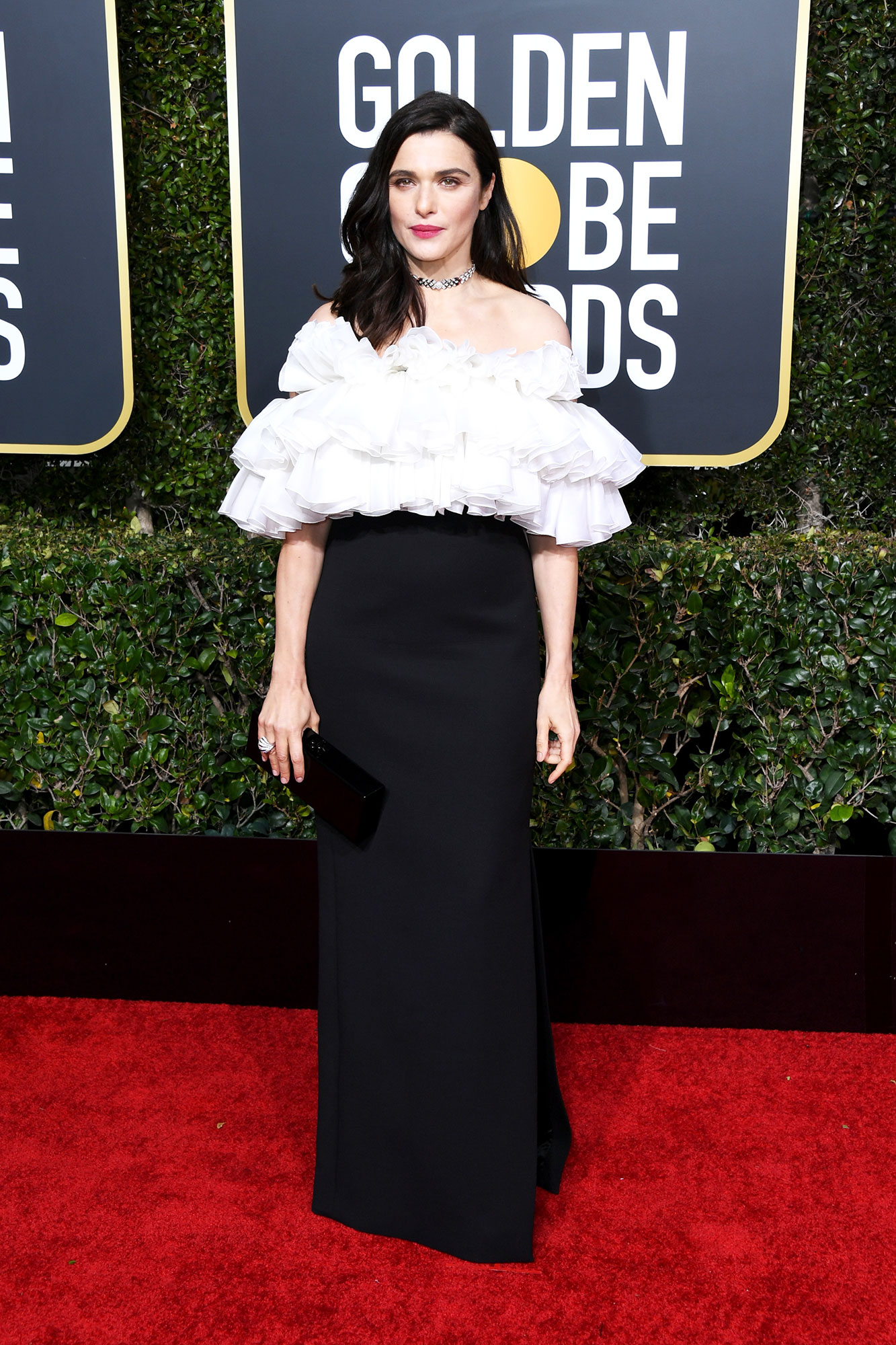 Rachel Weisz - In a ruffled wool and silk gown on Jan. 6.