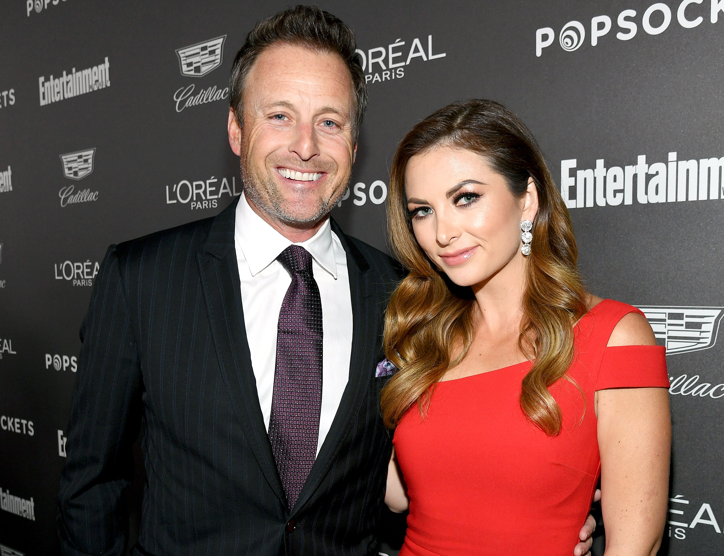 Chris Harrison Makes Red Carpet Debut With New Girlfriend Lauren Zima - Chris Harrison and Lauren Zima attend Entertainment Weekly Celebrates Screen Actors Guild Award Nominees sponsored by L'Oreal Paris, Cadillac, And PopSockets at Chateau Marmont on January 26, 2019 in Los Angeles, California.