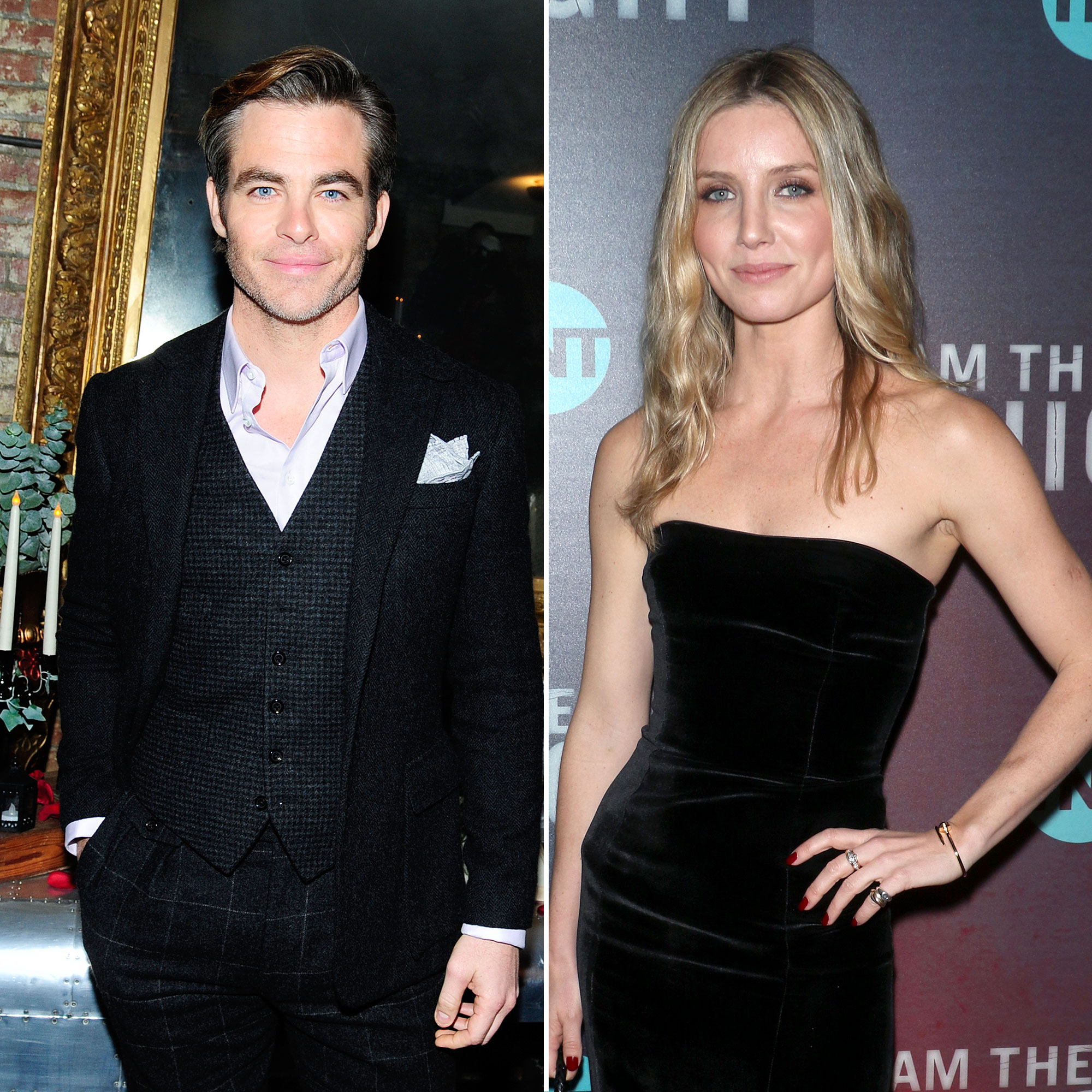 Chris Pine Annabelle Wallis Show Pda Look Very Cozy At