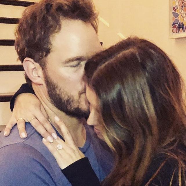 Chris Pratt Katherine Schwarzenegger Engaged
