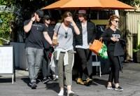 Chris-Pratt,-Katherine-Schwarzenegger,-Maria-Schriver-siblings-lunch