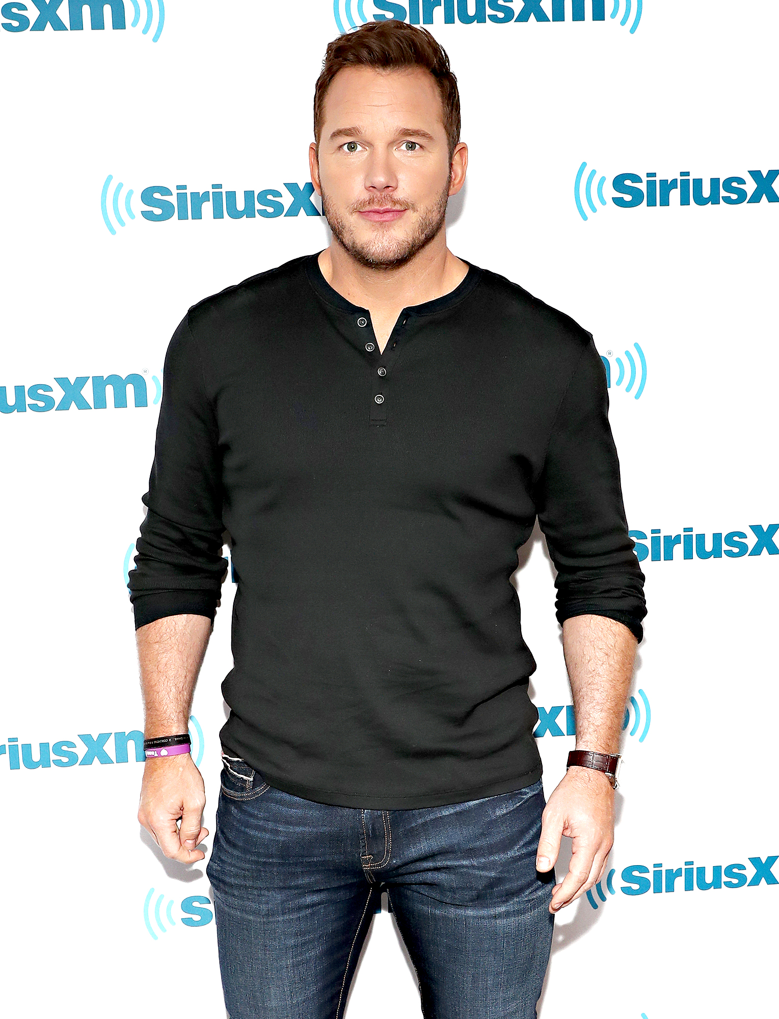 Chris-Pratt-diet - NEW YORK, NY – JUNE 14: Actor Chris Pratt takes part inÊSiriusXM's Town Hall with the cast of 'Jurassic World: Fallen Kingdom' at the SiriusXM Studios on June 14, 2018 in New York City. (Photo by Cindy Ord/Getty Images for SiriusXM)