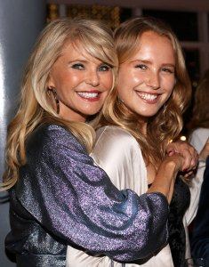 Christie Brinkley and Daughter Sailor Cook