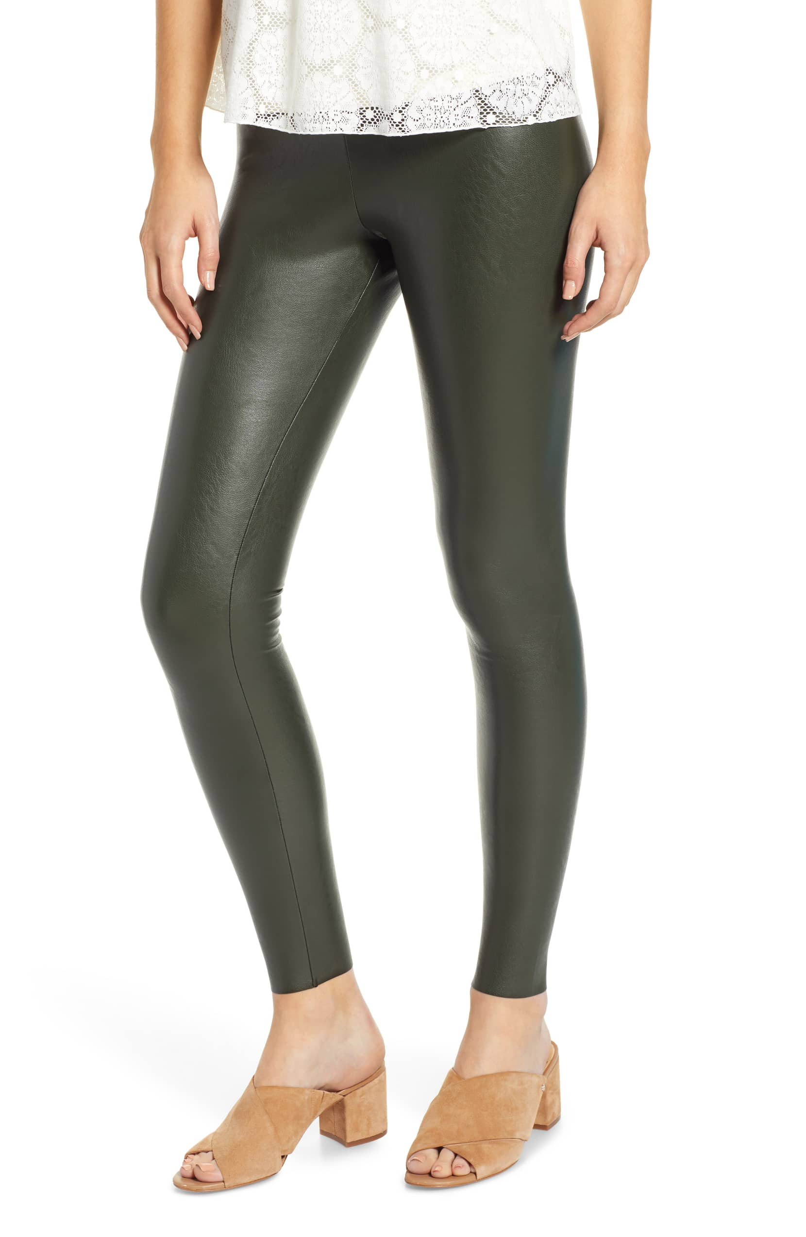 38652b8eeba The Faux Leather Leggings We're Never Taking Off