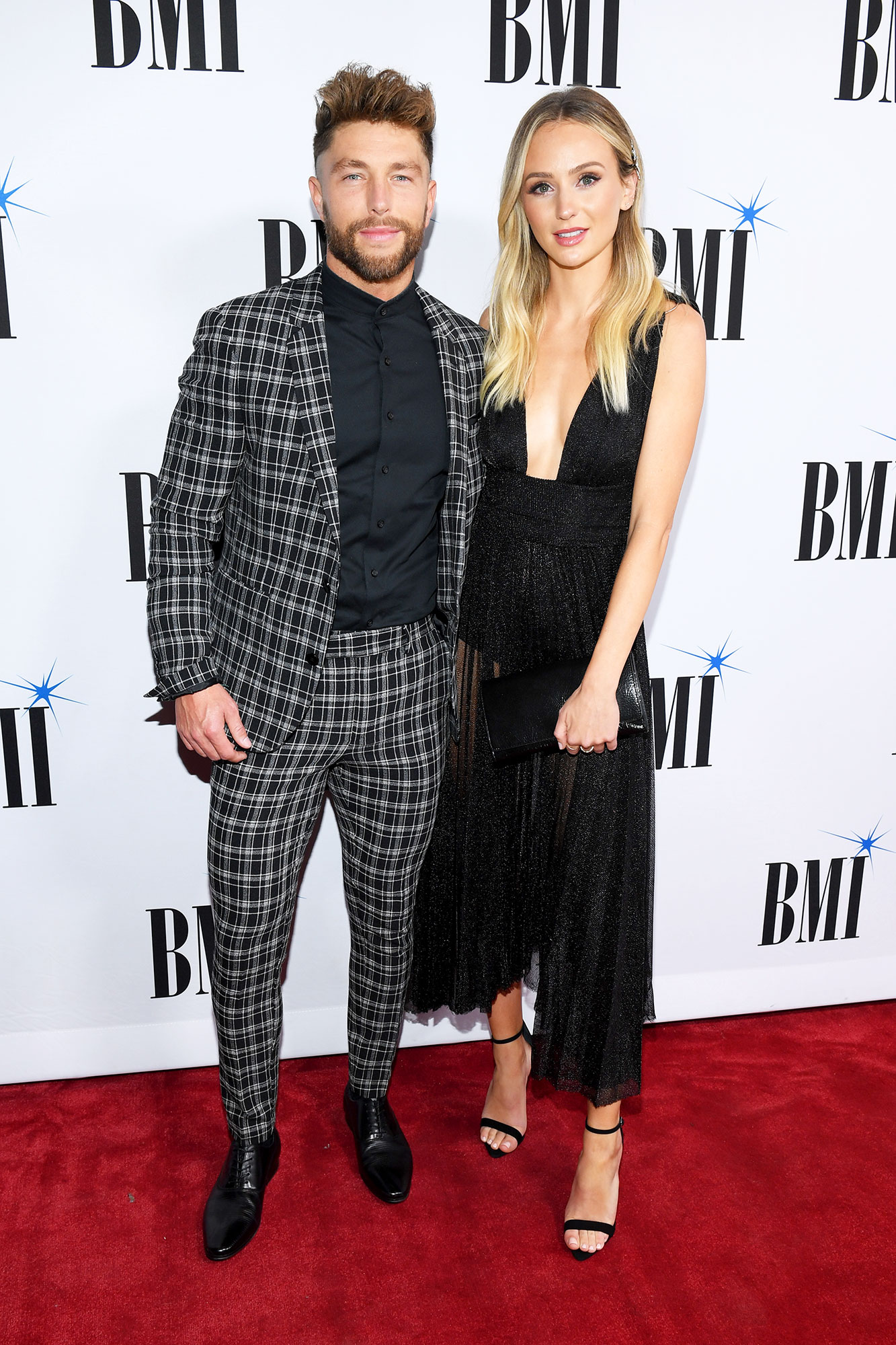 "Couples Who Made Their Red Carpet Debuts at an Awards Show - The Bachelor alum went public with her romance with the country crooner at the 2018 BMI Country Music Awards. Later in the night, she watched as the ""For Her"" singer performed."