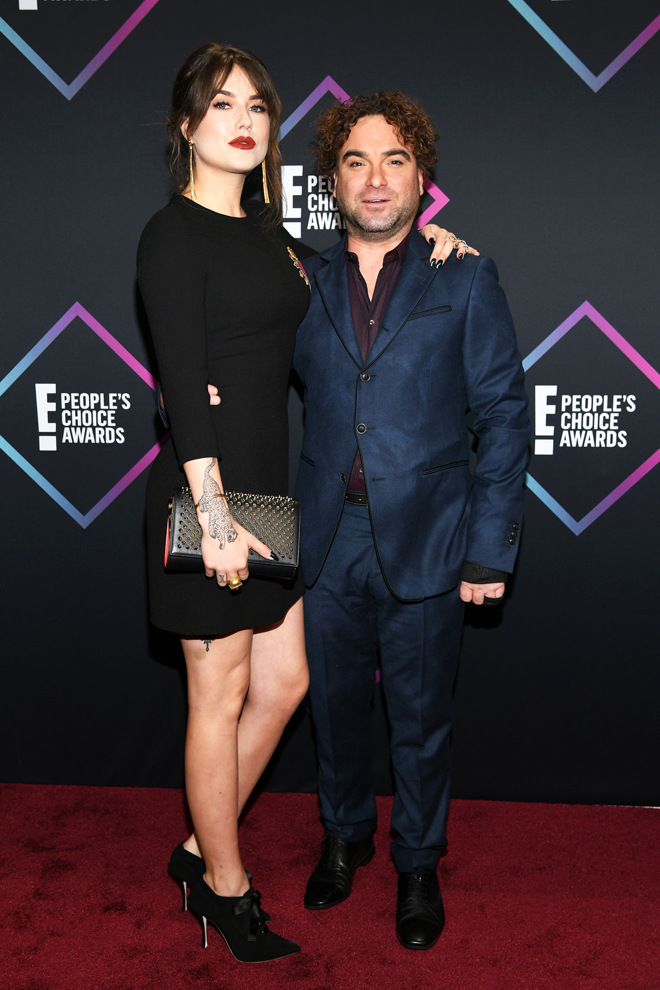 "Couples Who Made Their Red Carpet Debuts at an Awards Show - The Conners star was joined by his welder girlfriend — who is 22 years his junior — at the 2018 People's Choice Awards. Meyer later shared a photo of the lovebirds, captioning it, ""Peeps choice was so fun with my bae."""