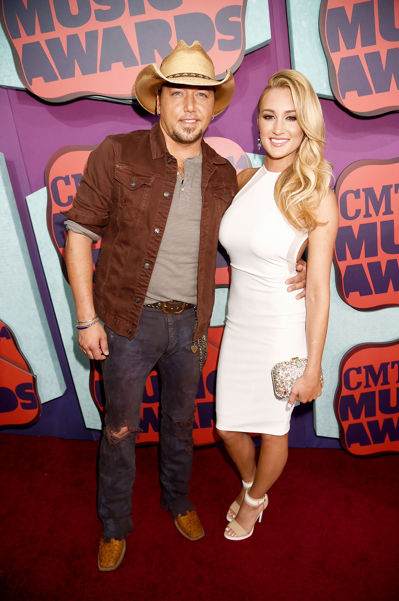Couples Who Made Their Red Carpet Debuts at an Awards Show - No more hiding! Aldean brought along the former American Idol contestant — who he was famously caught cheating on his wife with in October 2012 — to the 2014 CMT Awards.