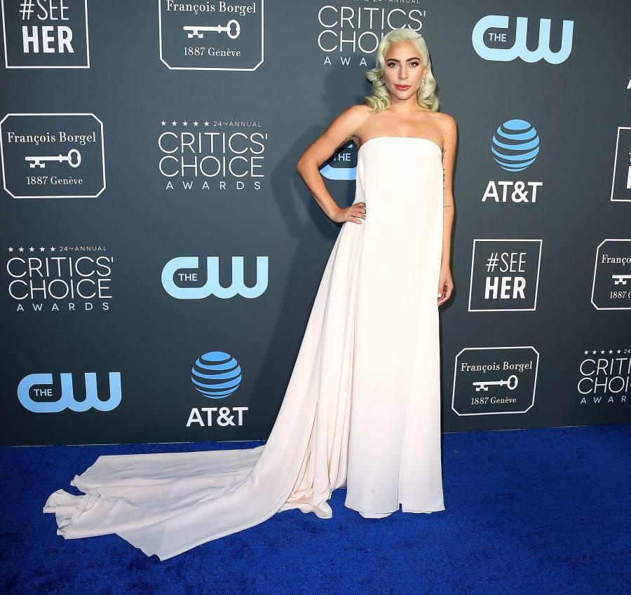 Lady Gaga critics choice awards 2019