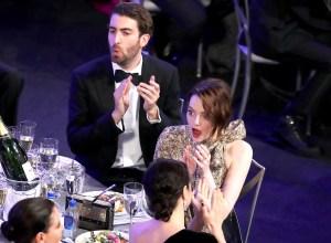 Emma-Stone-and-Dave-Mcary-SAG-awards-2019